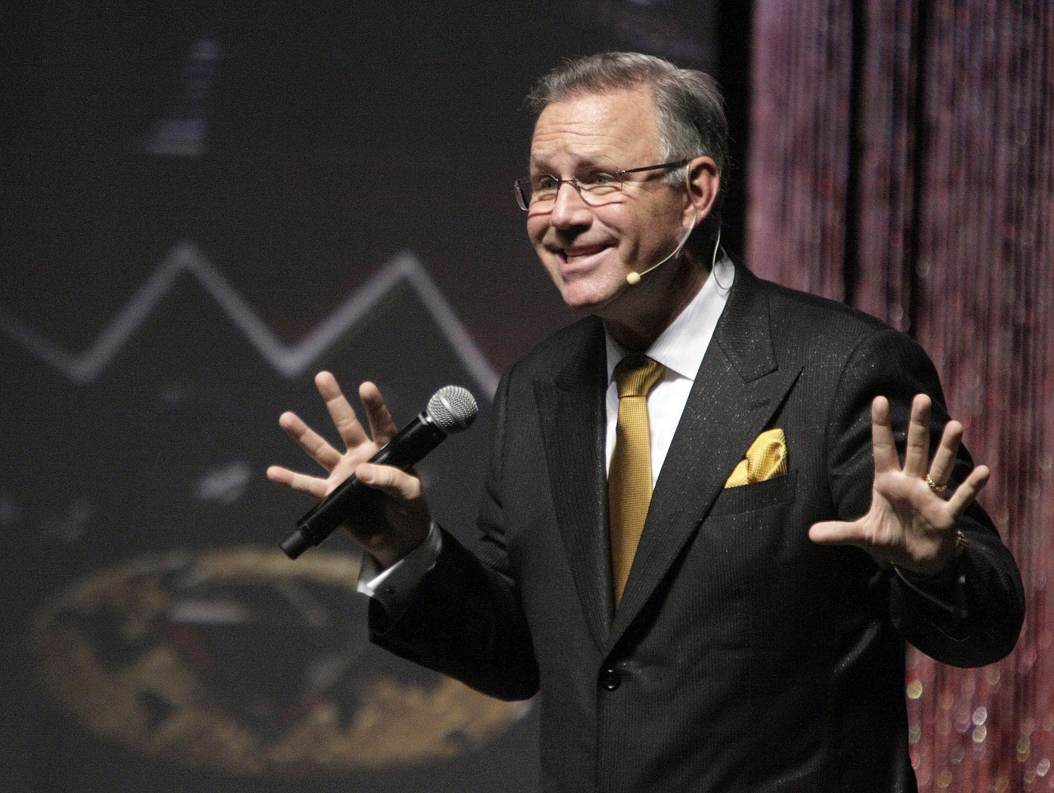 Greg Duncan Giving a Motivational Speech