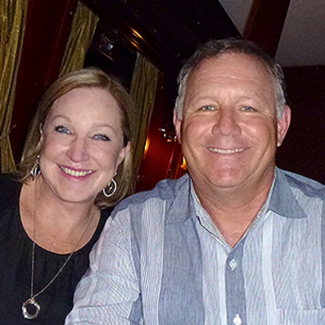 Happy Greg and Laurie Duncan