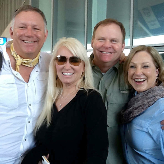 Greg and Laurie Duncan with Friends